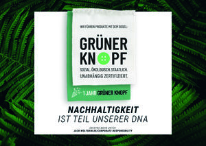 "JACK WOLFSKIN completes certification process for ecolabel ""Grüner Knopf"""