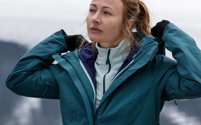 Women 3-in-1 jackets
