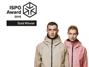 ISPO AWARD for THE STORM SHELL by WOLFSKIN TECH LAB