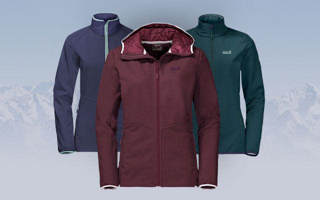 cc9a26cdc64618 Women s softshell jackets – Buy softshell jackets – JACK WOLFSKIN