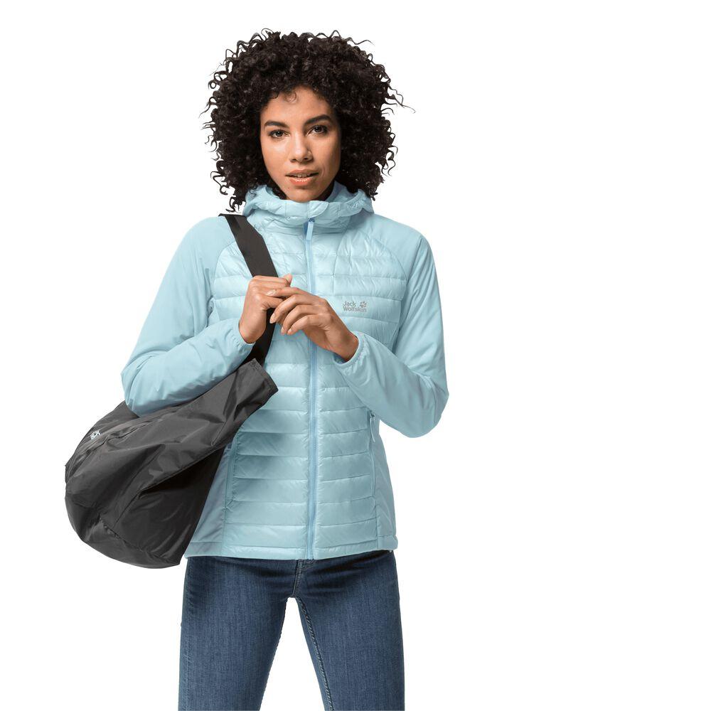 Jack Wolfskin Hybrid jacket women JWP Hybrid Women XS blue f