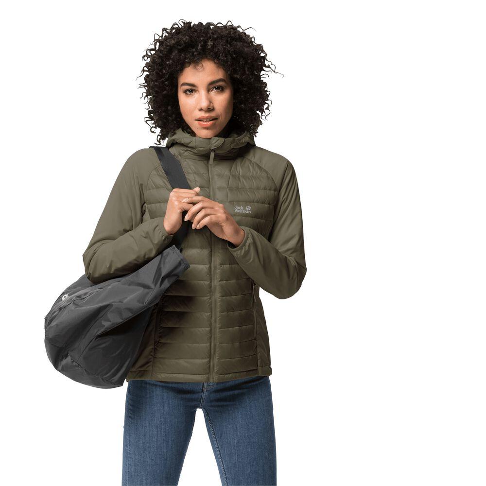 Jack Wolfskin Hybrid jacket women JWP Hybrid Women S green g