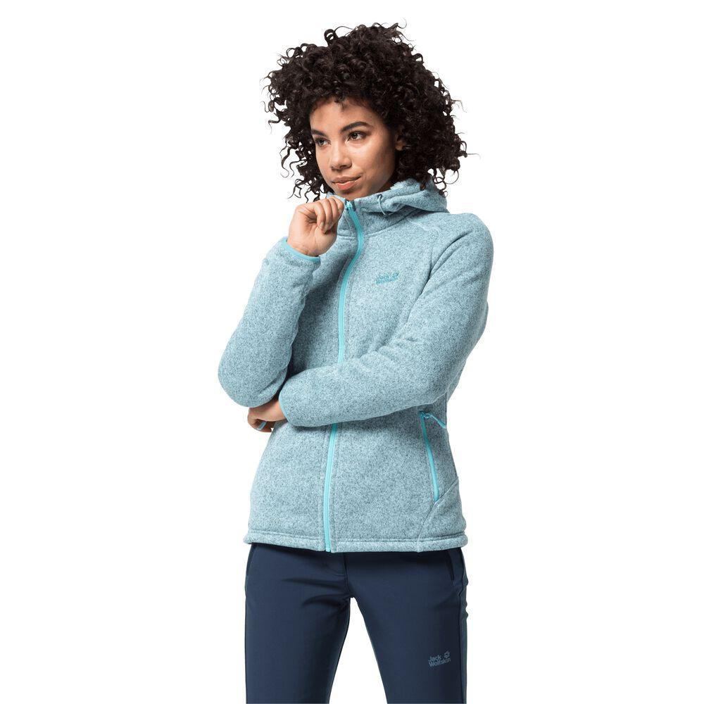Jack Wolfskin Fleece jacket women Lakeland Jacket Women XXL blue frosted blue