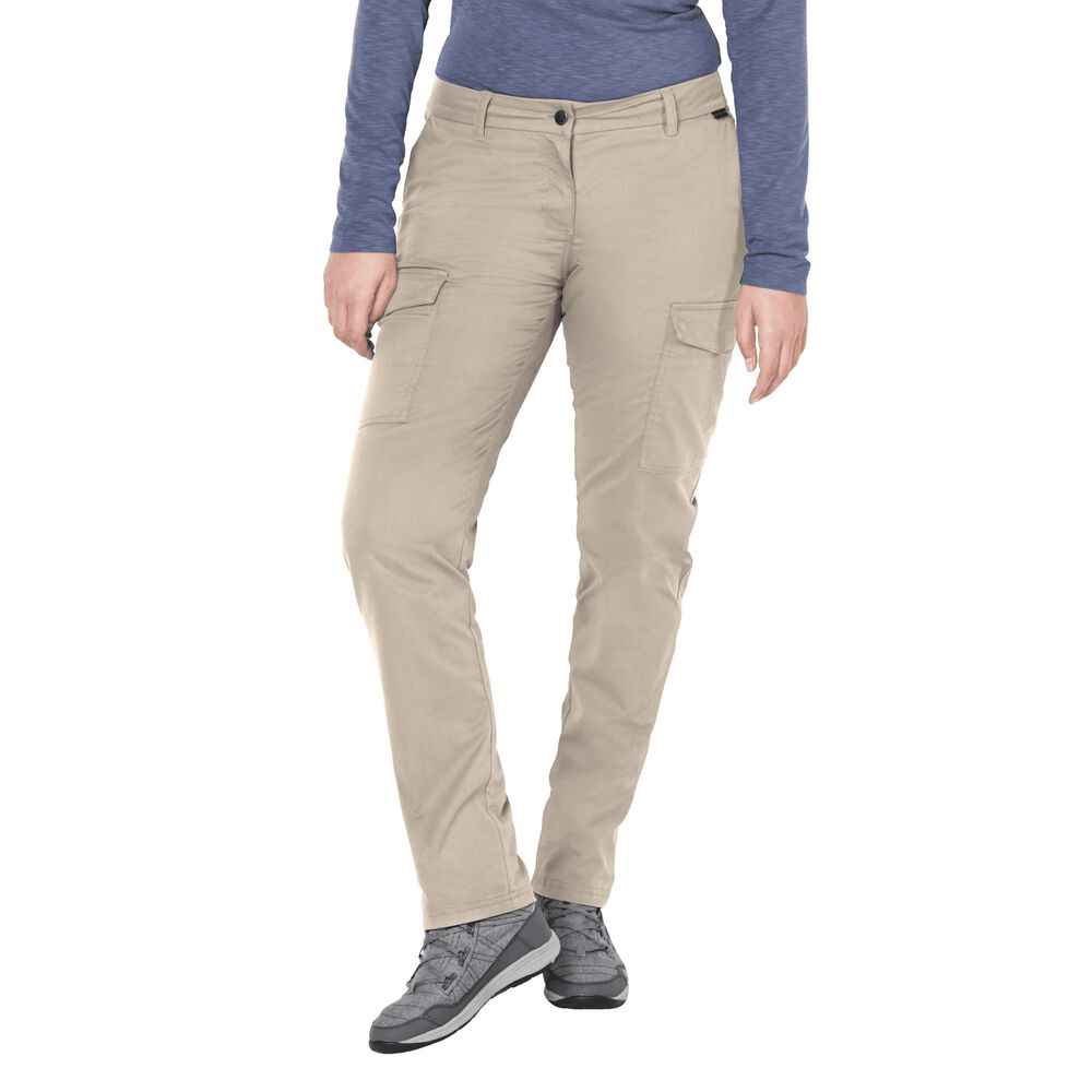 Jack Wolfskin Trousers women Liberty Cargo Pants 84 grey
