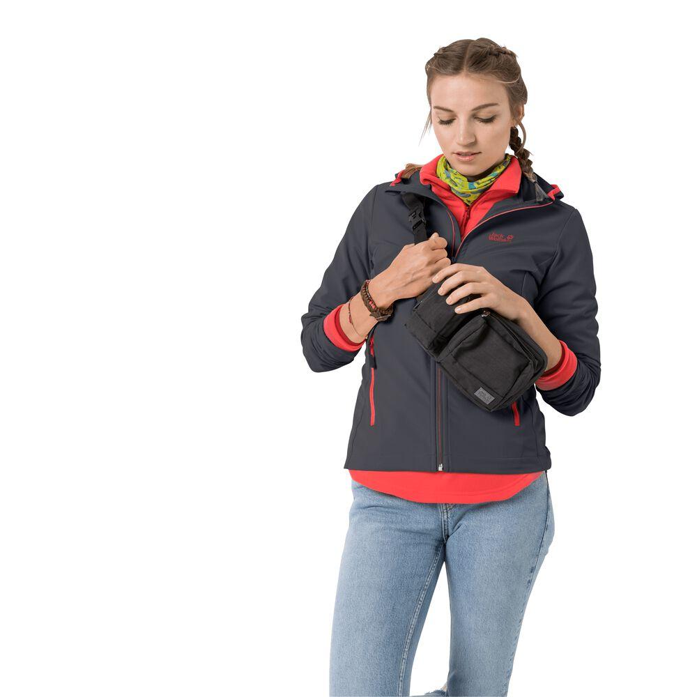 Jack Wolfskin Softshell jacket women Turbulence Jacket Women XXL ebony ebony
