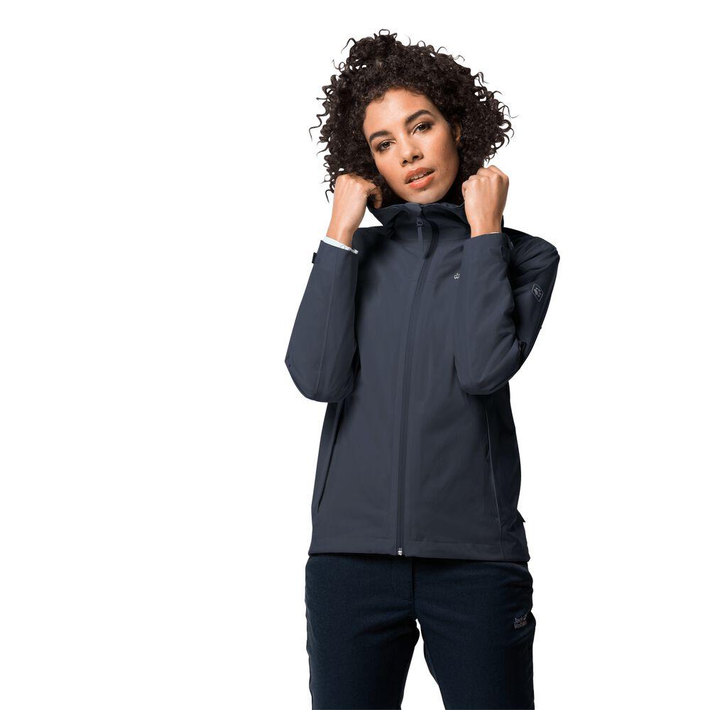 Jack Wolfskin Hardshell jacket women JWP Shell Women L blue