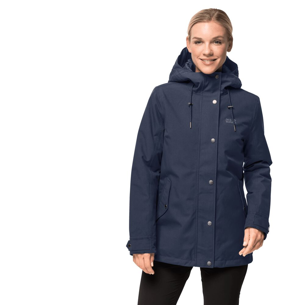 Jack Wolfskin Winter jacket women Mora Jacket XS blue