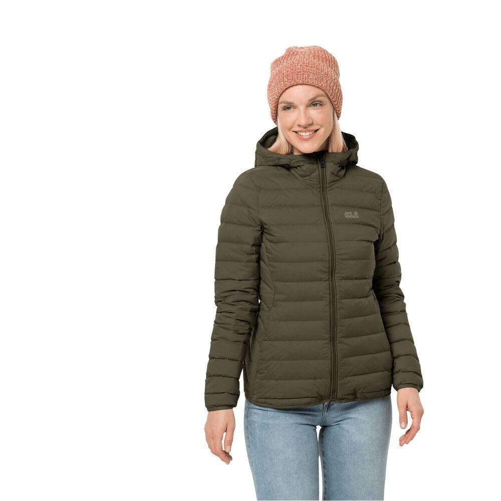 Jack Wolfskin Windproof down jacket women Glowing Mountain J