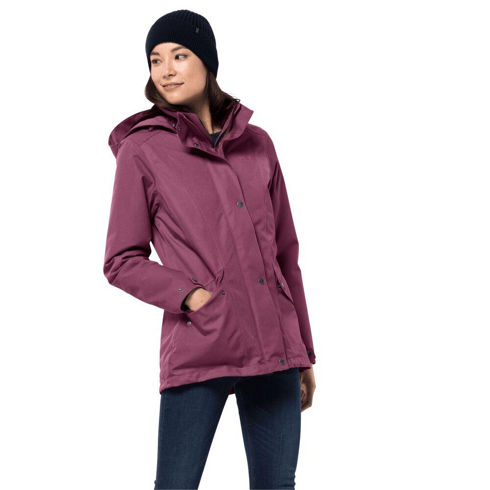 Jack Wolfskin Winter hardshell women Park Avenue Jacket XS v