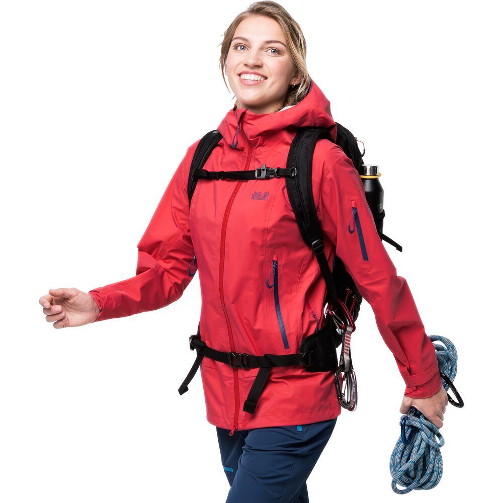 Jack Wolfskin Womens hardshell jacket Exolight Pro Jacket Wo