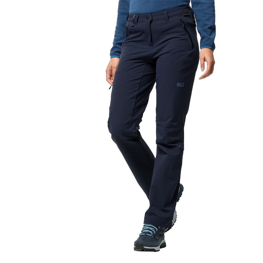 Jack Wolfskin Softshell trousers women Activate Extended Version Women 34 blue