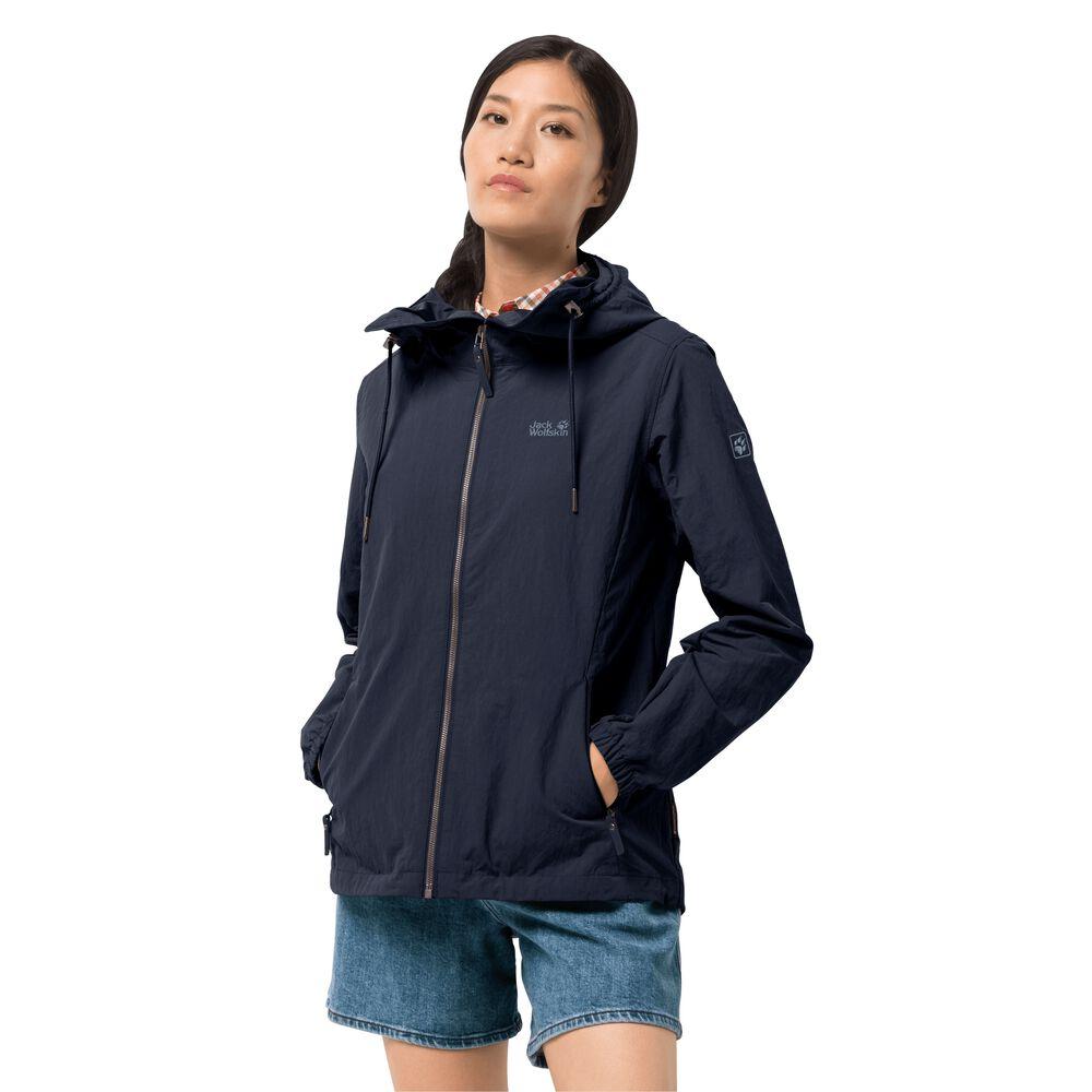 Jack Wolfskin Summer jakcet women Lakeside Jacket Women M blue