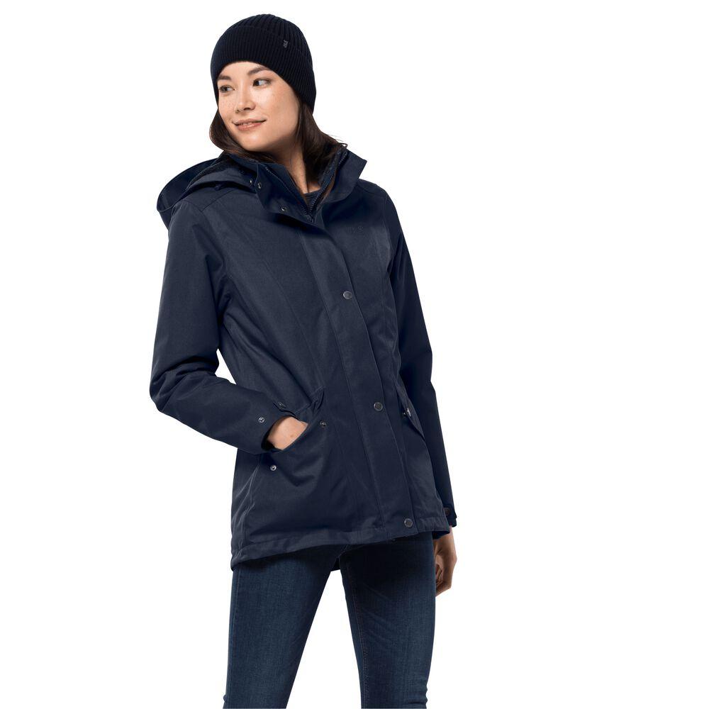 Jack Wolfskin Winter hardshell women Park Avenue Jacket L bl