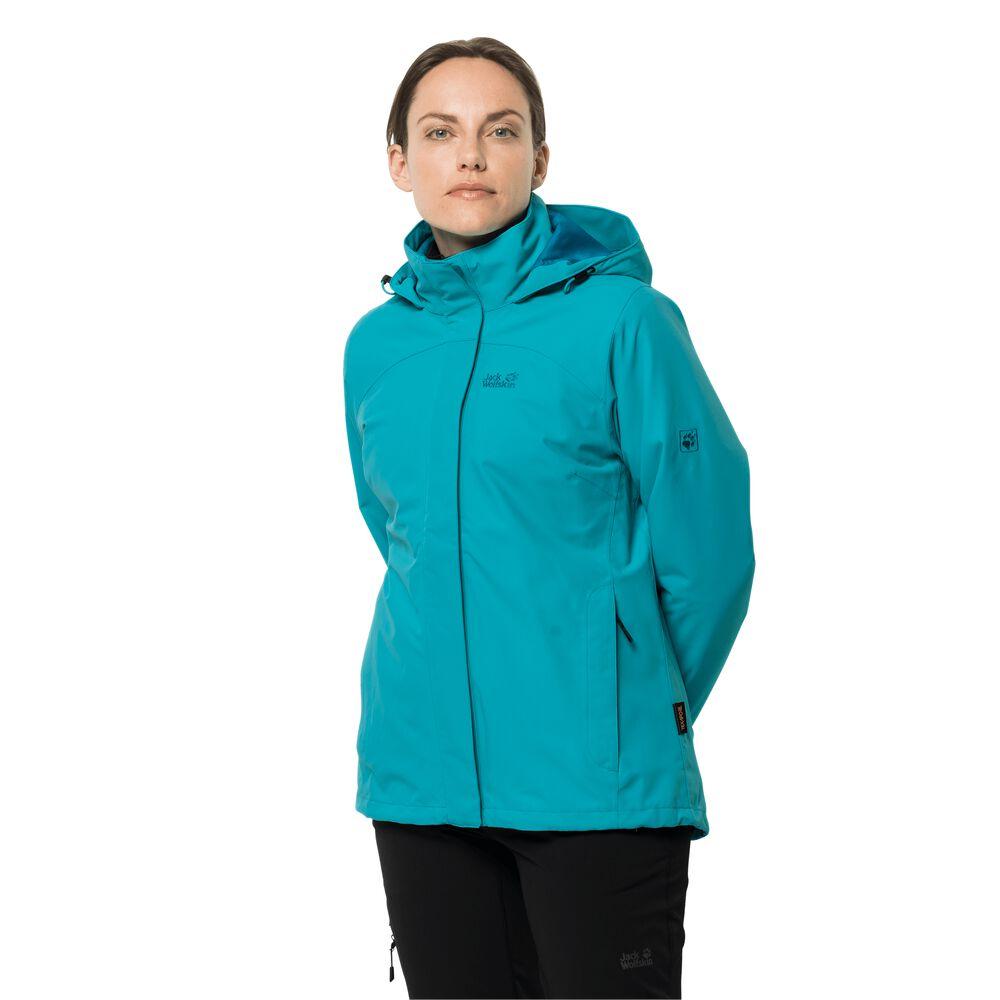 Jack Wolfskin 3-in-1 hardshell jacket women Pouring Rain 3in