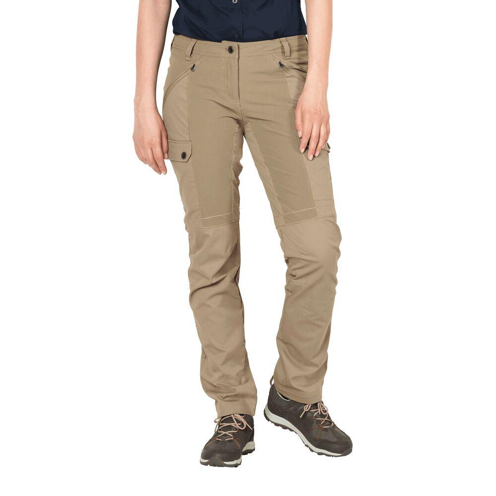 Jack Wolfskin Dawson Flex Pants Women 21 brown