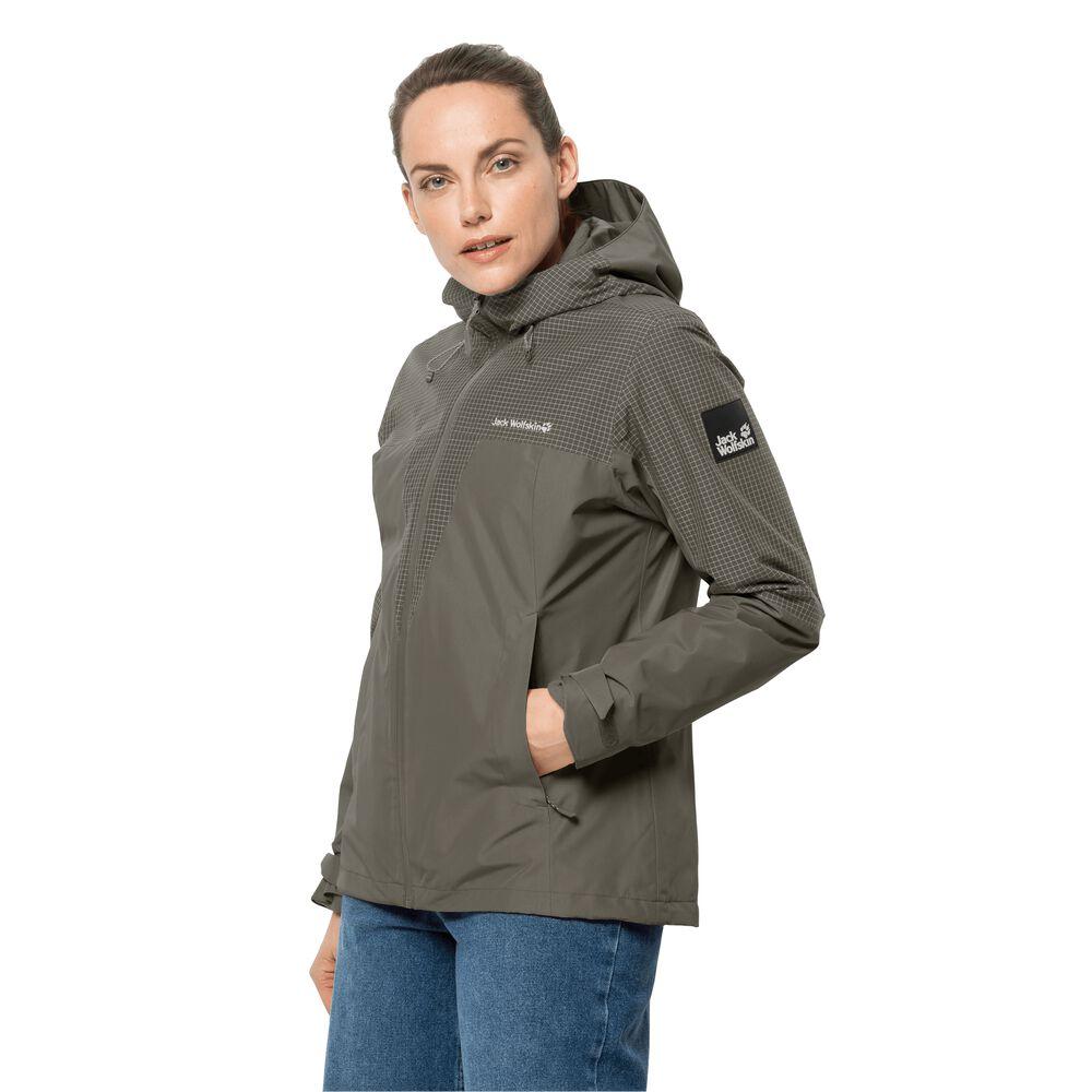 Jack Wolfskin 3-in-1 hardshell jacket women DNA Rhapsody 3in