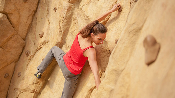 Climbing – the only way is up!