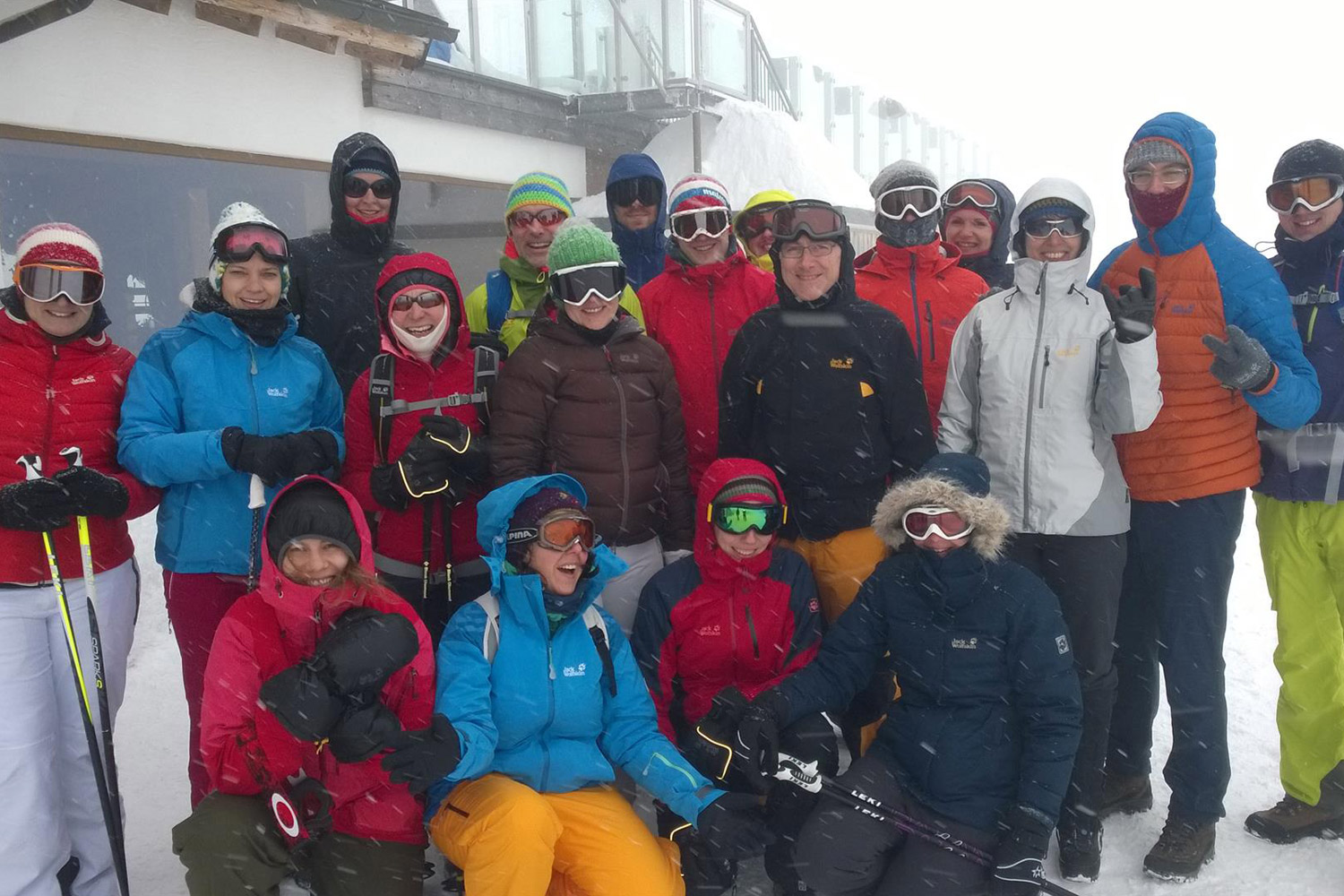 Skiing and snowboarding 2015 in Zell am See (Austria)