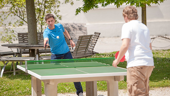 Table tennis – time to sharpen your senses