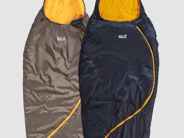 Close-up of a sleeping bag